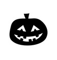 halloween pumpkin icon jack lantern sign vector image