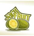 jackfruit vector image vector image