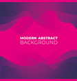 modern abstract background with shapes vector image vector image