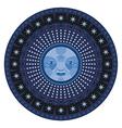 Nocturne Mandala vector image vector image