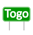 Togo road sign vector image vector image