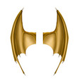 wings dragon vector image
