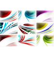 Business Design Set vector image