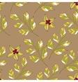 Flower leaves pattern