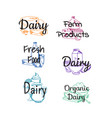 piles of milk products vector image vector image