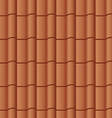 roof tile seamless background vector image vector image