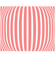 striped background coral color abstract vector image vector image