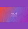 abstract colored background with waves vector image vector image