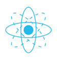 atom science symbol vector image