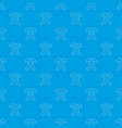 childrens romper suit pattern seamless blue vector image