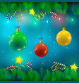 festive bright background vector image