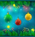 Festive bright background vector image