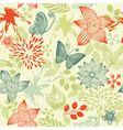 floral pattern vector image vector image
