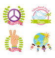 icon set event peaser vector image