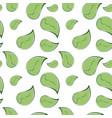 leaves pattern green doodle on transparent