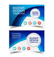 multipurpose layout banner design4 vector image