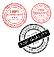 quality stamps vector image