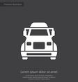 truck premium icon vector image vector image