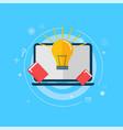 online education banner vector image