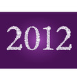 2012 year vector image vector image