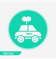 car toy icon sign symbol vector image vector image
