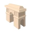 Triumphal arch icon cartoon style vector image vector image