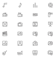 User Interface Icons 6 vector image vector image