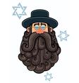 Rabbi Portrait vector image