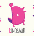 Alphabet letter d and dinosaur