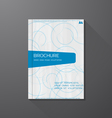 Azure Book cover vector image vector image
