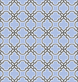 Blue seamless pattern islamic style vector image vector image