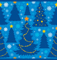 christmas seamless background 6 vector image