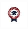College university logo design template emblem