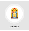 Jukebox Flat Icon vector image vector image
