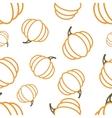 Pattern Circuit Pumpkin vector image vector image