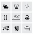 Schoolbook icon set vector image