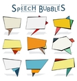 Speechbubbles vector image