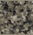 camouflage pattern background modern clothing vector image vector image