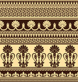 greek design seamless vector image vector image