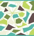 green colorful background vector image vector image