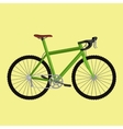 isolated electric bicycle for sport or urban city vector image vector image