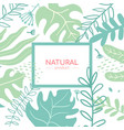 natural product - modern flat design style vector image