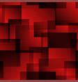 pattern of red squares with shadow and volume vector image