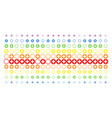 pharmacy shape halftone spectral array vector image vector image