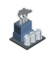power central isometric 3d element vector image