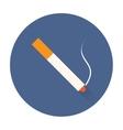 smok cigarette icon vector image