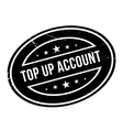 Top Up Account rubber stamp vector image
