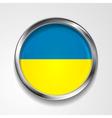 Ukrainian flag vector image vector image