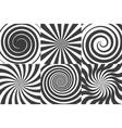 comic swirl backgrounds vector image
