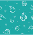 festive christmas decoration for website social vector image vector image